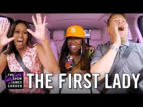 Michelle Obama Missy Elliott James Corden sing karaoke